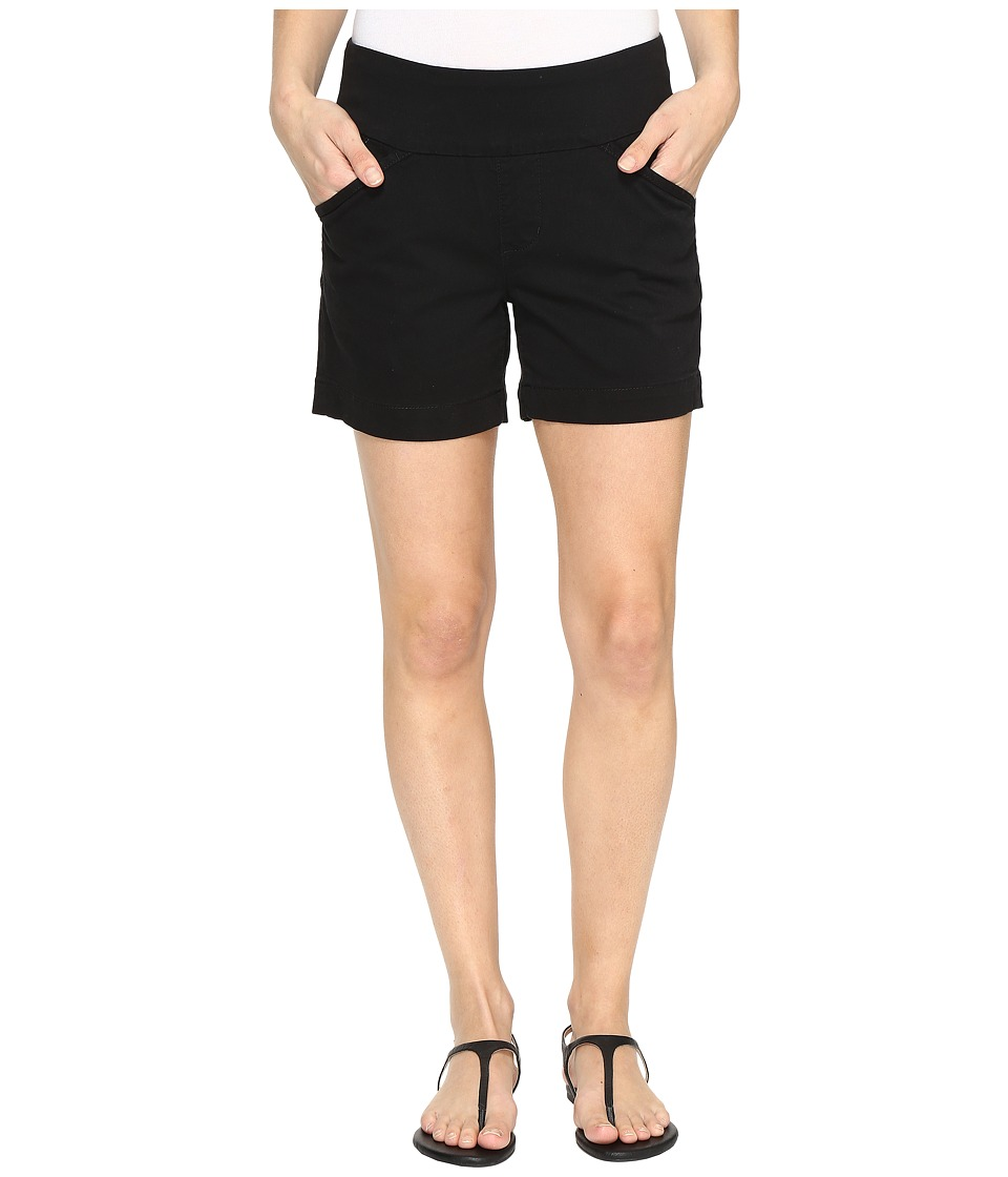Jag Jeans - Ainsley Pull-On 5 Shorts in Bay Twill (Black) Womens Shorts