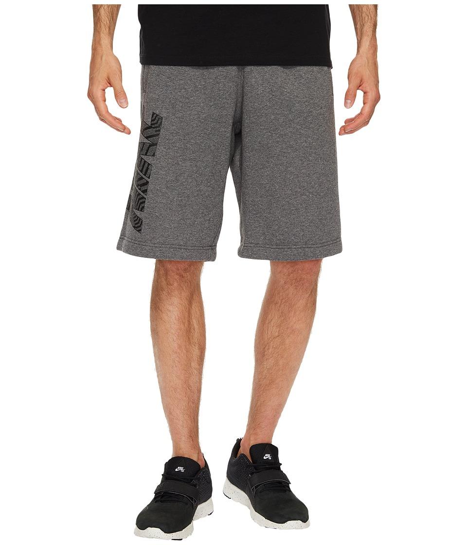 Nike Sportswear Short (Charcoal Heather/Dark Grey/Black) Men