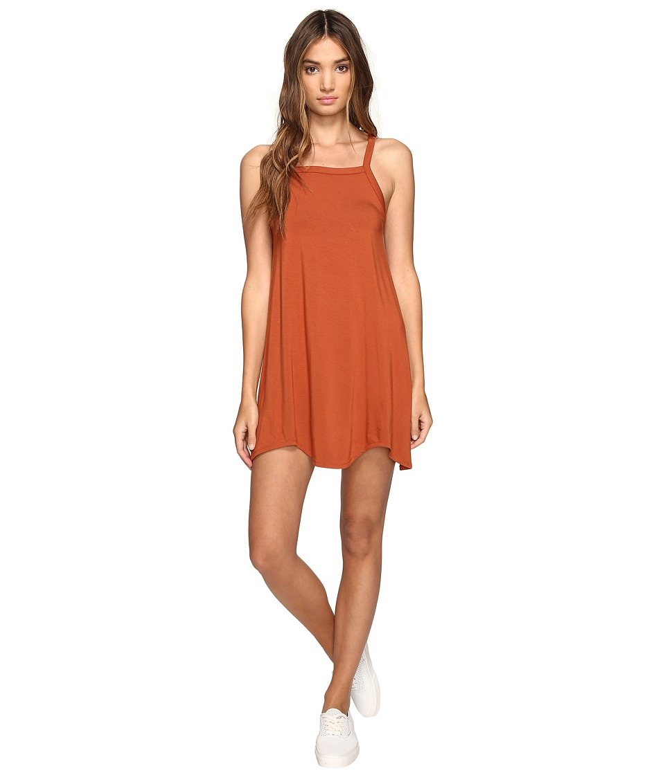 RVCA Thievery Dress (Ginger) Women