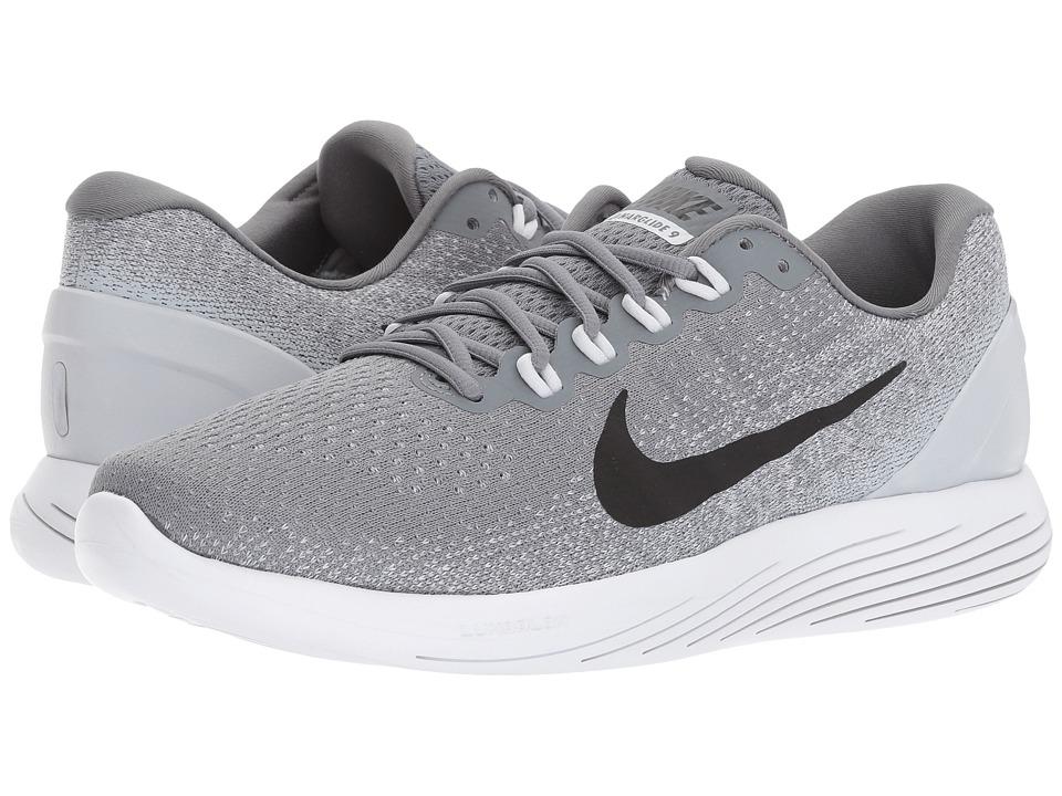 Nike LunarGlide 9 (Cool Grey/Black/Pure Platinum/White) Men
