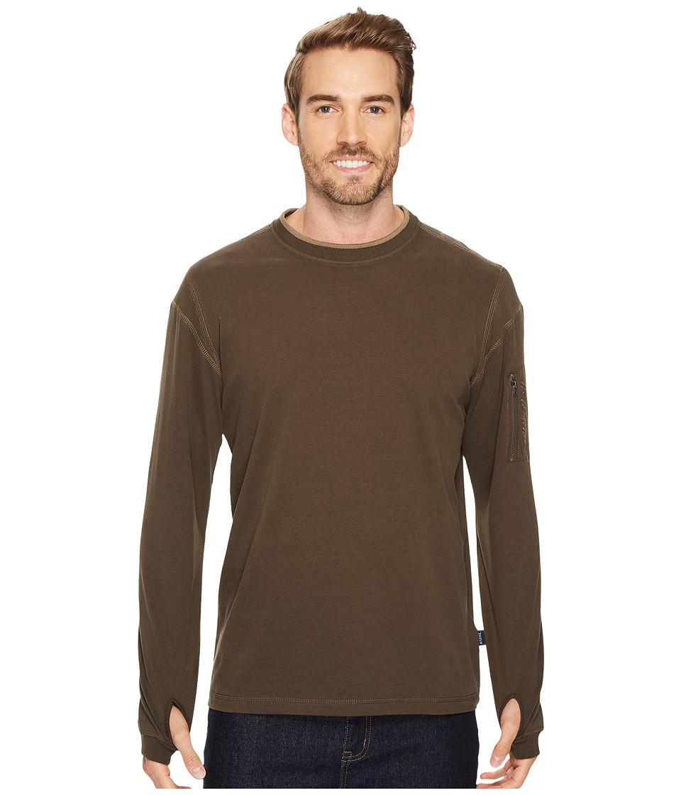 KUHL - Kommando Crew (Espresso) Mens Long Sleeve Pullover