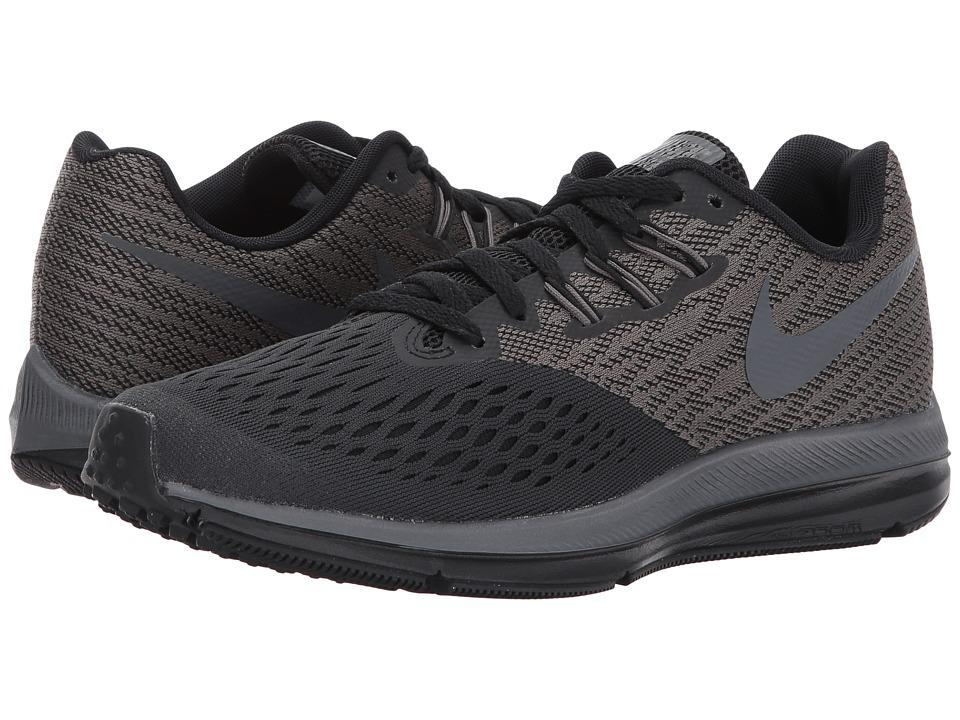 Nike Air Zoom Winflo 4 (Anthracite/Dark Grey/Black) Women...