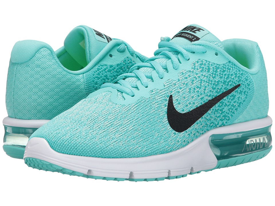 Nike Air Max Sequent 2 (Aurora Green/Black/Turbo Green/Igloo) Women