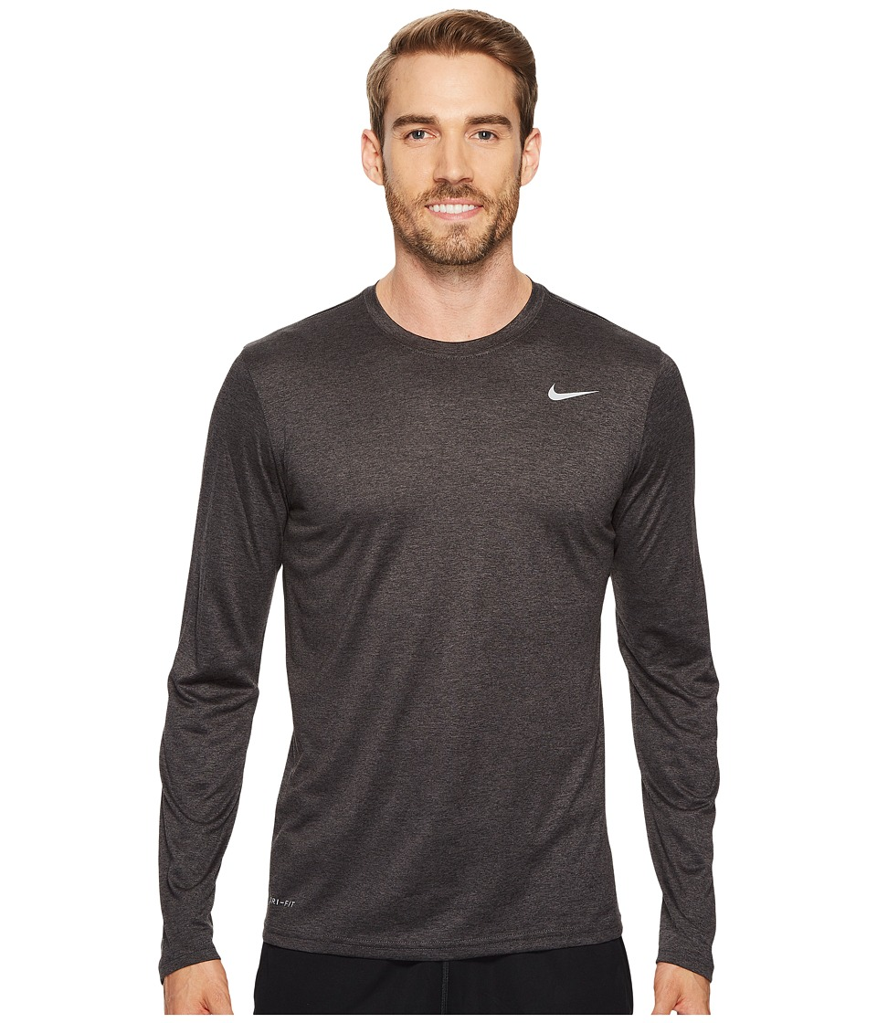 Nike Legend 2.0 Long Sleeve Tee (Black/Anthracite/Matte Silver) Men