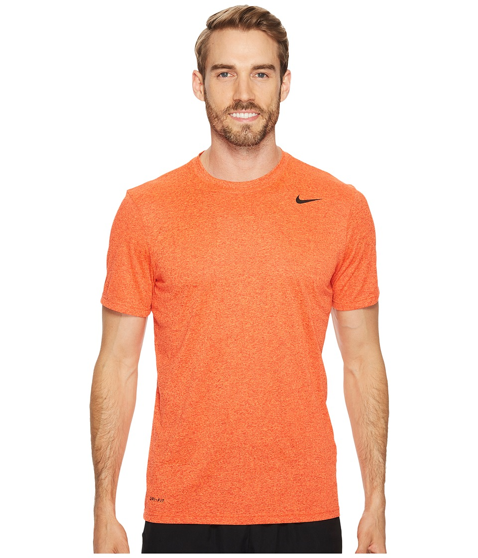 Nike Legend 2.0 Short Sleeve Tee (University Red/Hyper Crimson/Heather/Black) Men