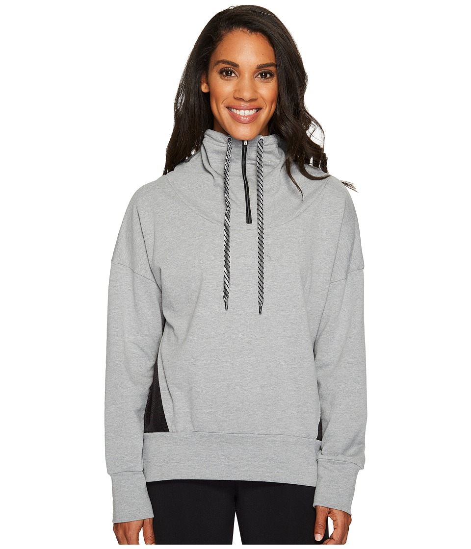 Lucy Full Potential 1/2 Zip (Silver Filigree Heather) Women