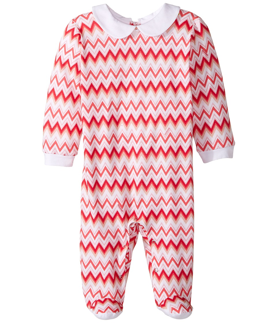 Missoni Kids - Jersey Zigzag All Over Printed Long Sleeve One