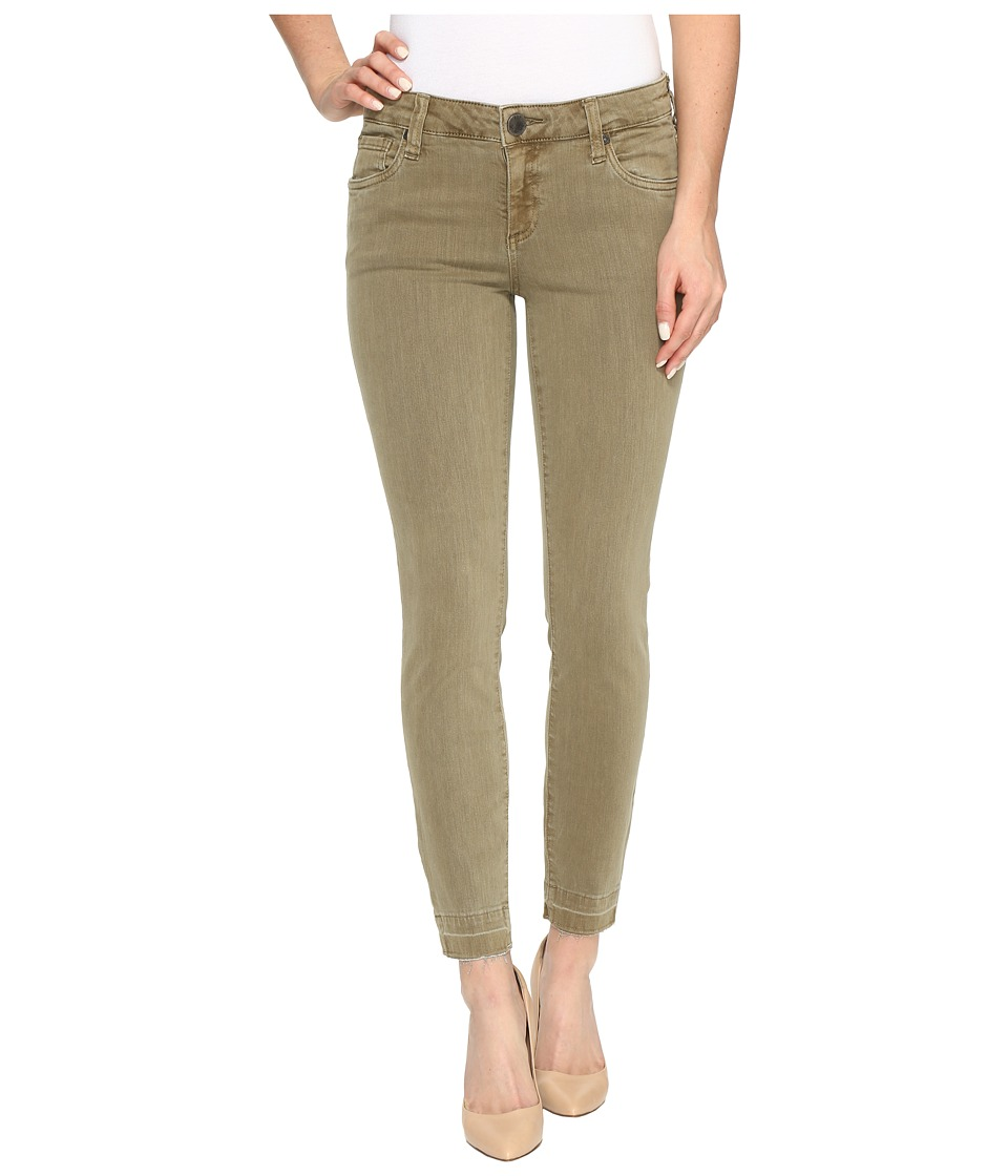 KUT from the Kloth Connie Ankle Skinny with Released Hem in Olive (Olive) Women