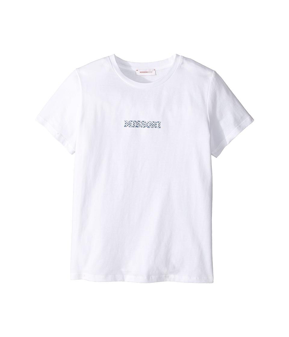 Missoni Kids - Printed Zigzag Logo T-Shirt