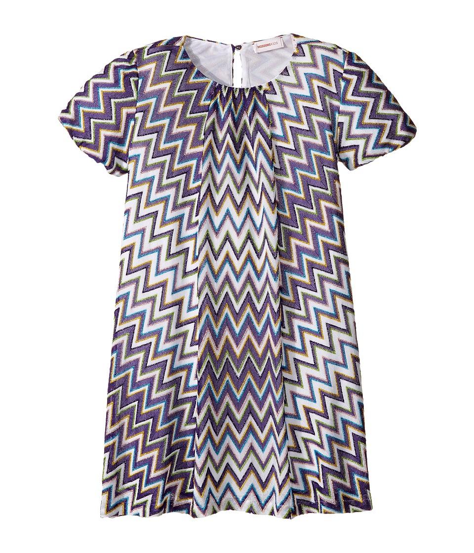 Missoni Kids - Lurex Zigzag Dress
