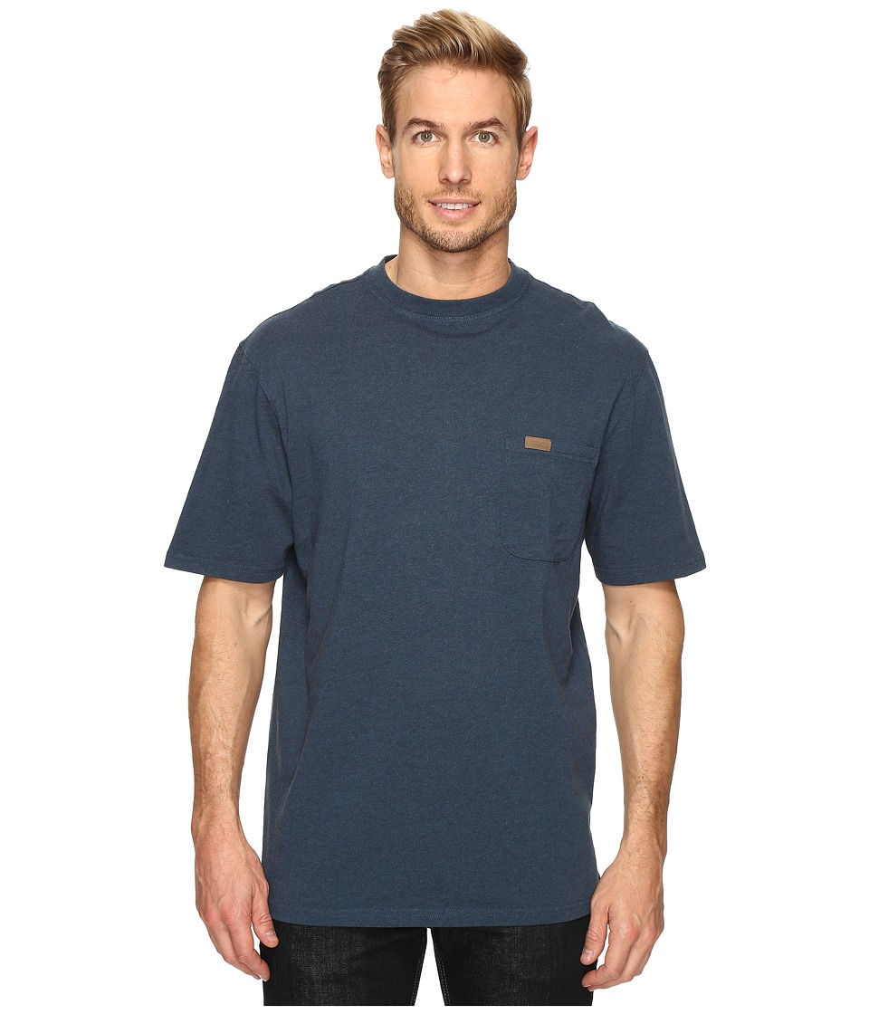 Pendleton S/S Deschutes Pocket Shirt (Deep Blue Heather) Men