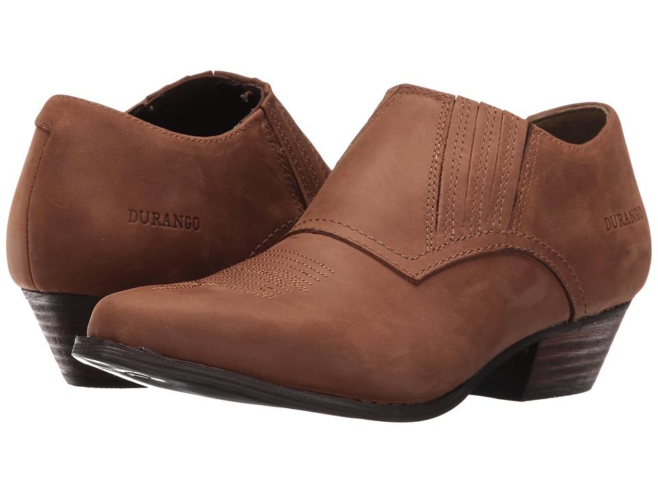 Durango Western Shoe Boot (Brown) Cowboy Boots