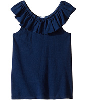 Splendid Littles - Indigo Peasant Top (Big Kids)