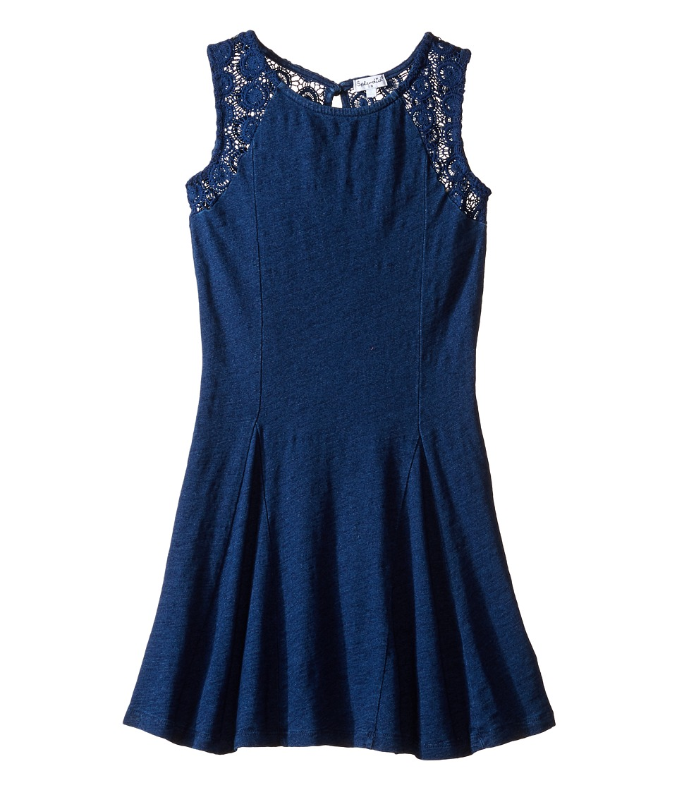 Splendid Littles - Indigo Lace Fit and Flare Dress