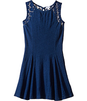 Splendid Littles - Indigo Lace Fit and Flare Dress (Big Kids)