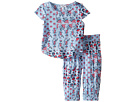 Splendid Littles - All Over Print Cross Back Top Set (Infant)