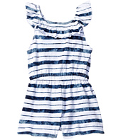 Splendid Littles - Indigo Striped Tie-Dye Peasant Romper (Infant)