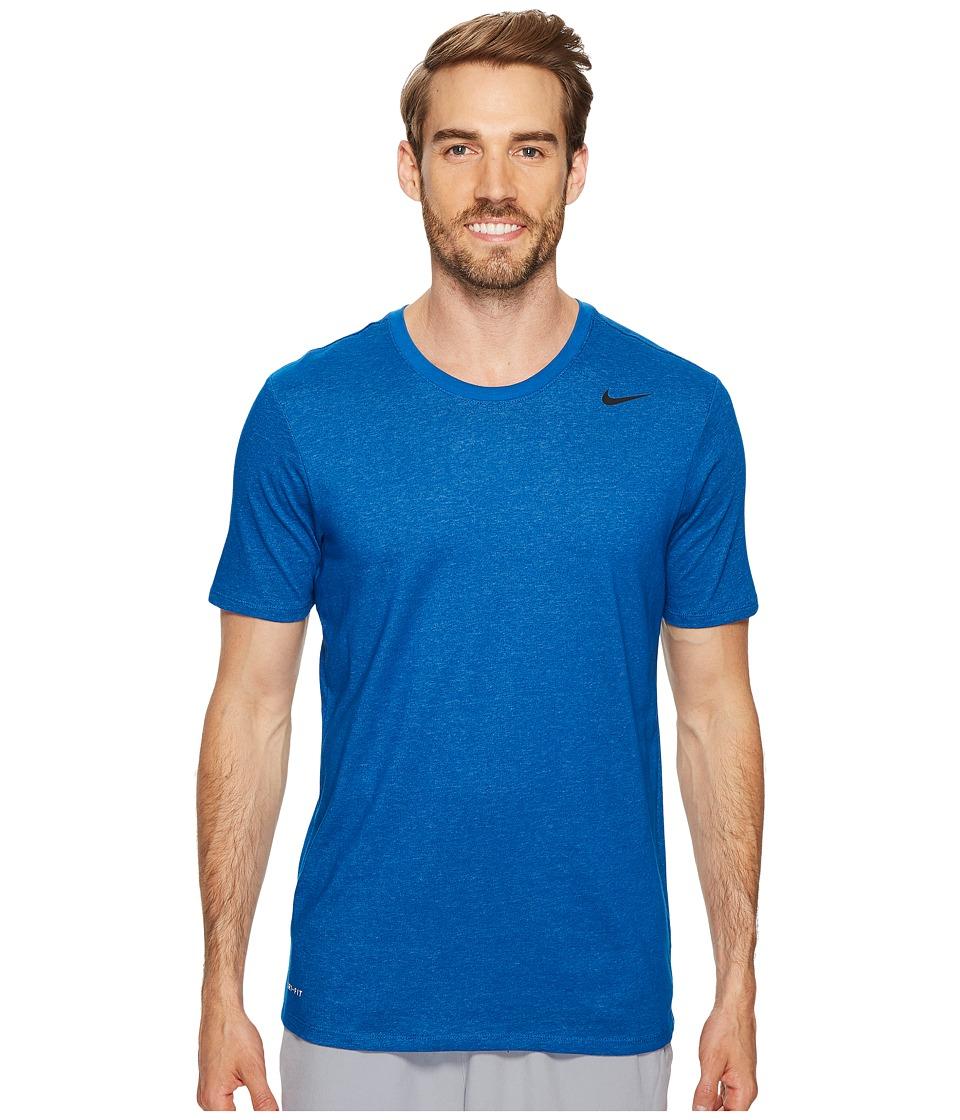 Nike Dri-FITtm Version 2.0 T-Shirt (Blue Jay/Cerulean/Black) Men