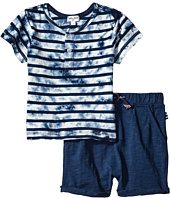 Splendid Littles - Tie-Dye Short Sleeve Shorts Set (Infant)
