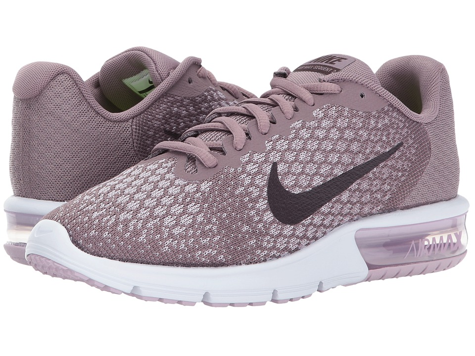 Nike Air Max Sequent 2 (Taupe Grey/Port Wine/Plum Fog/Iced Lilac) Women