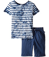 Splendid Littles - Tie-Dye Short Sleeve Shorts Set (Little Kids)