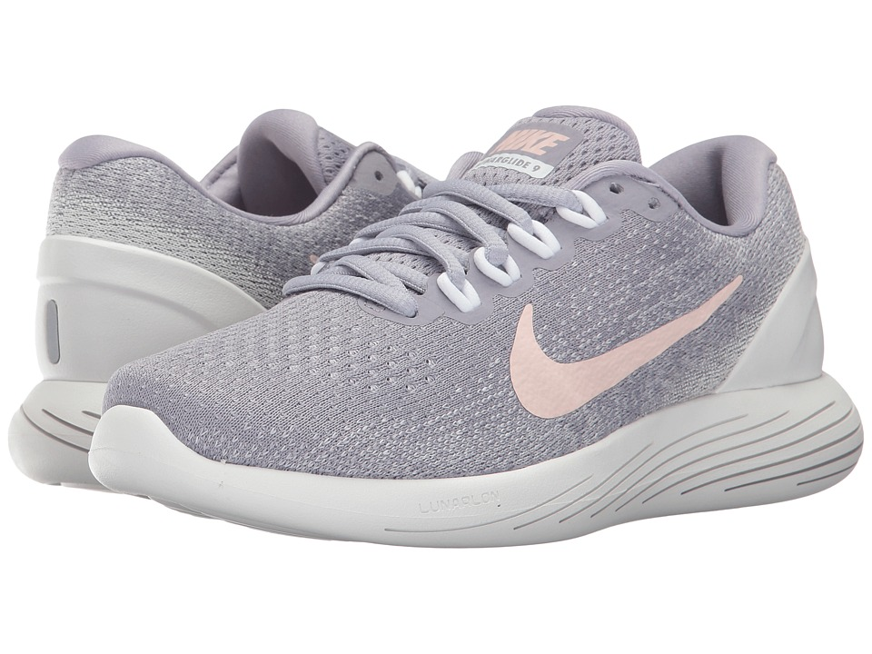 Nike LunarGlide 9 (Provence Purple/Sunset Tint/Summit Whi...