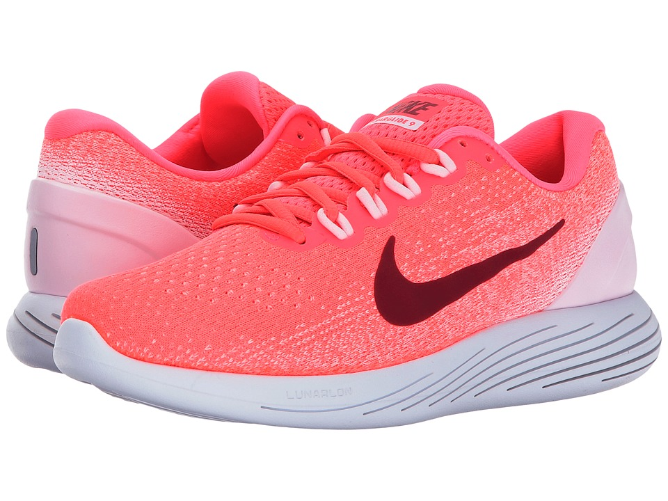 Nike LunarGlide 9 (Hot Punch/Noble Red/Arctic Pink/White)...