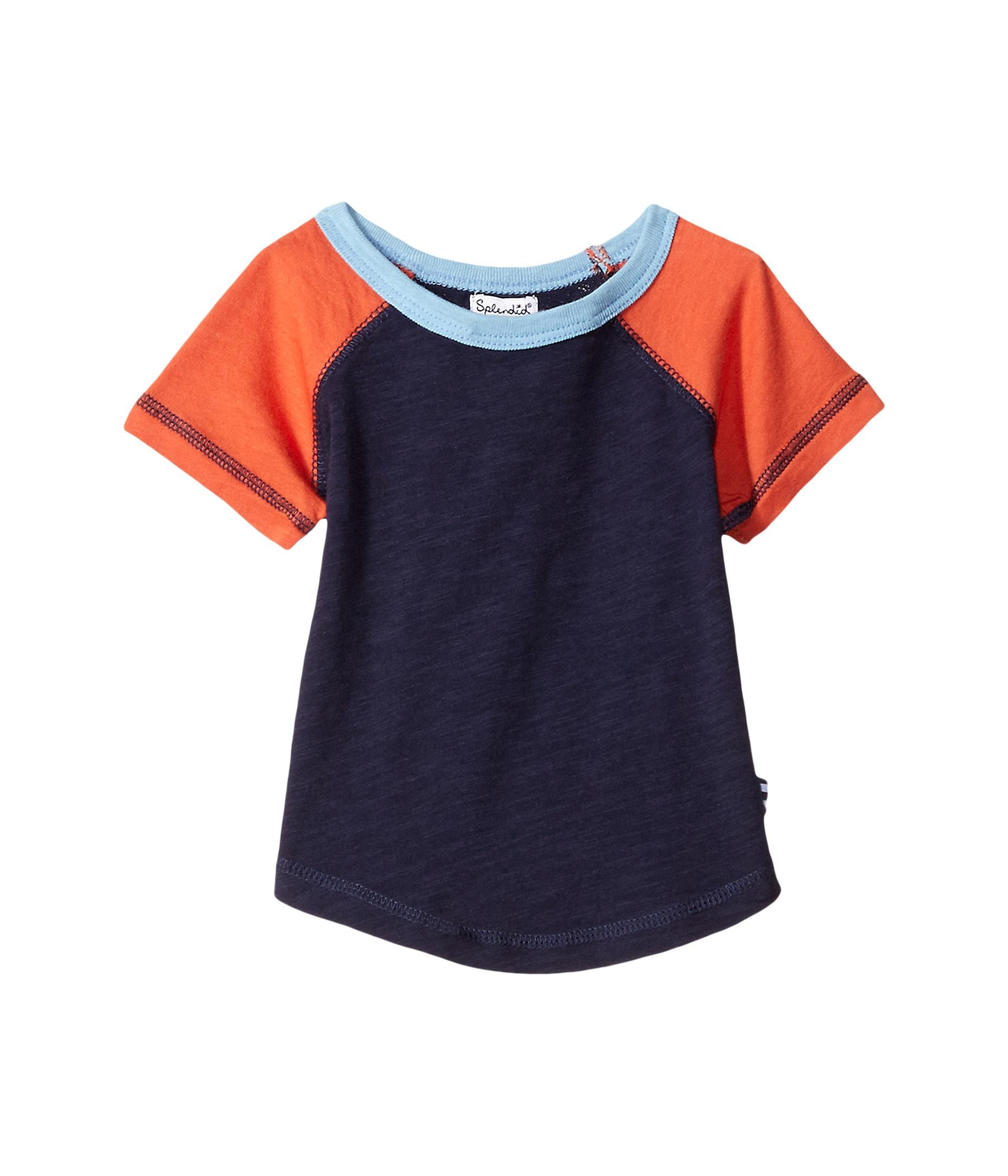 Splendid littles always short sleeve raglan infant at for Splendid infant