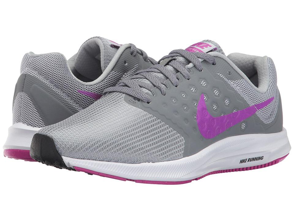 Nike Downshifter 7 (Cool Grey/Hyper Violet/Wolf Grey/Black) Women