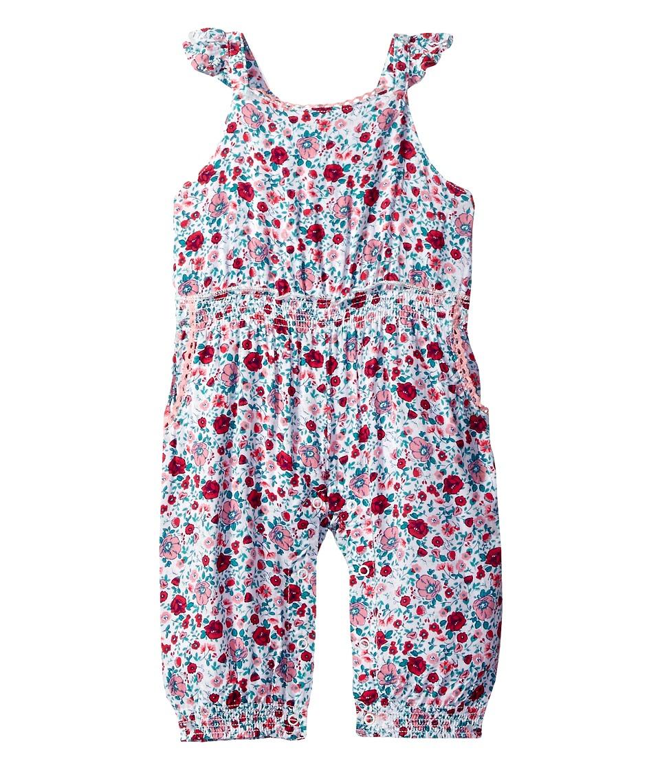 Vintage Style Children's Clothing: Girls, Boys, Baby, Toddler Splendid Littles - All Over Printed Jumpsuit Romper Infant Dark Coral Girls Jumpsuit  Rompers One Piece $48.00 AT vintagedancer.com