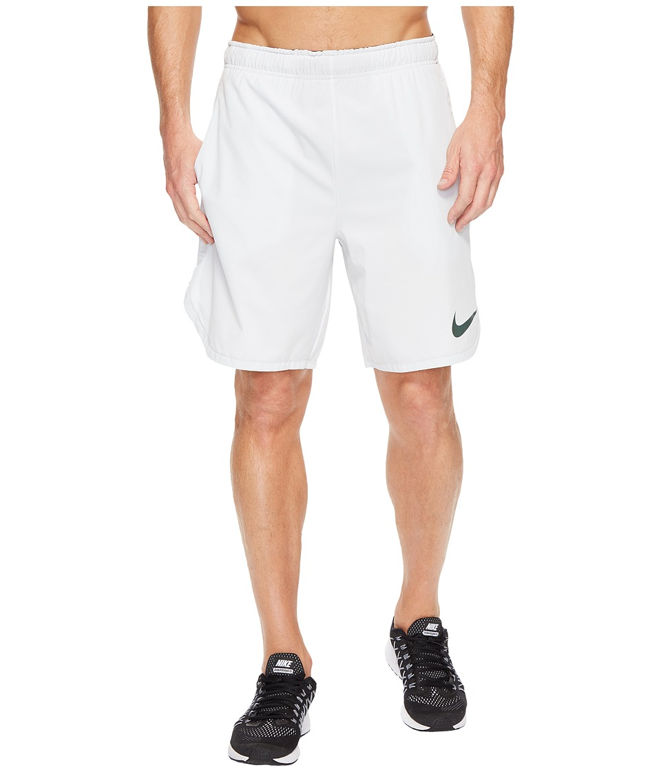 Nike Flex 8 Training Short (Pure Platinum/Vintage Green) Men