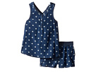 Splendid Littles - Printed Denim Cross Back Tank Set (Toddler)