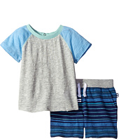 Splendid Littles - Raglan Shorts Set with Striped Shorts (Infant)