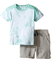 Splendid Littles - Short Sleeve Tie-Dye Shorts Set (Infant)