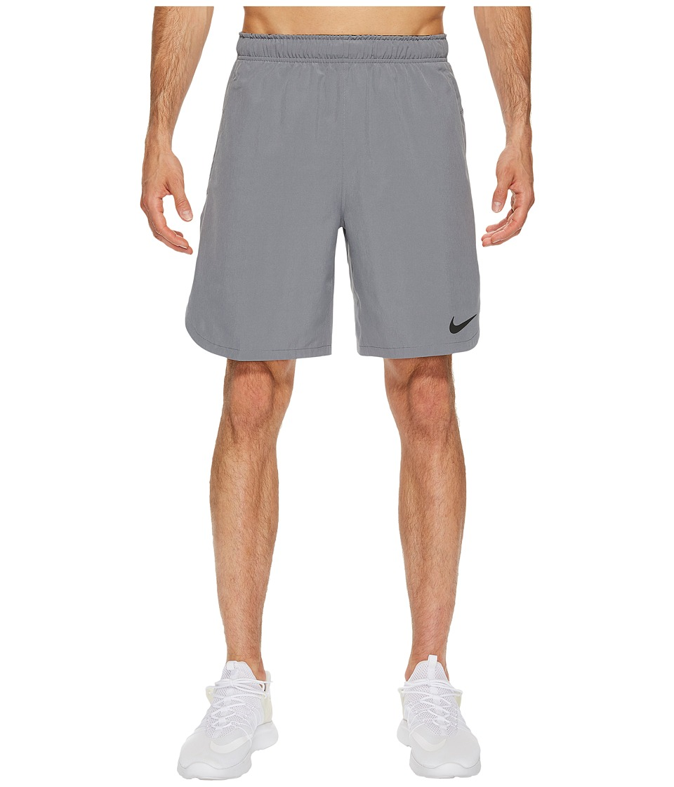 Nike Flex 8 Training Short (Cool Grey/Pure Platinum/Black) Men