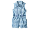 Gingham Check Romper (Little Kids)