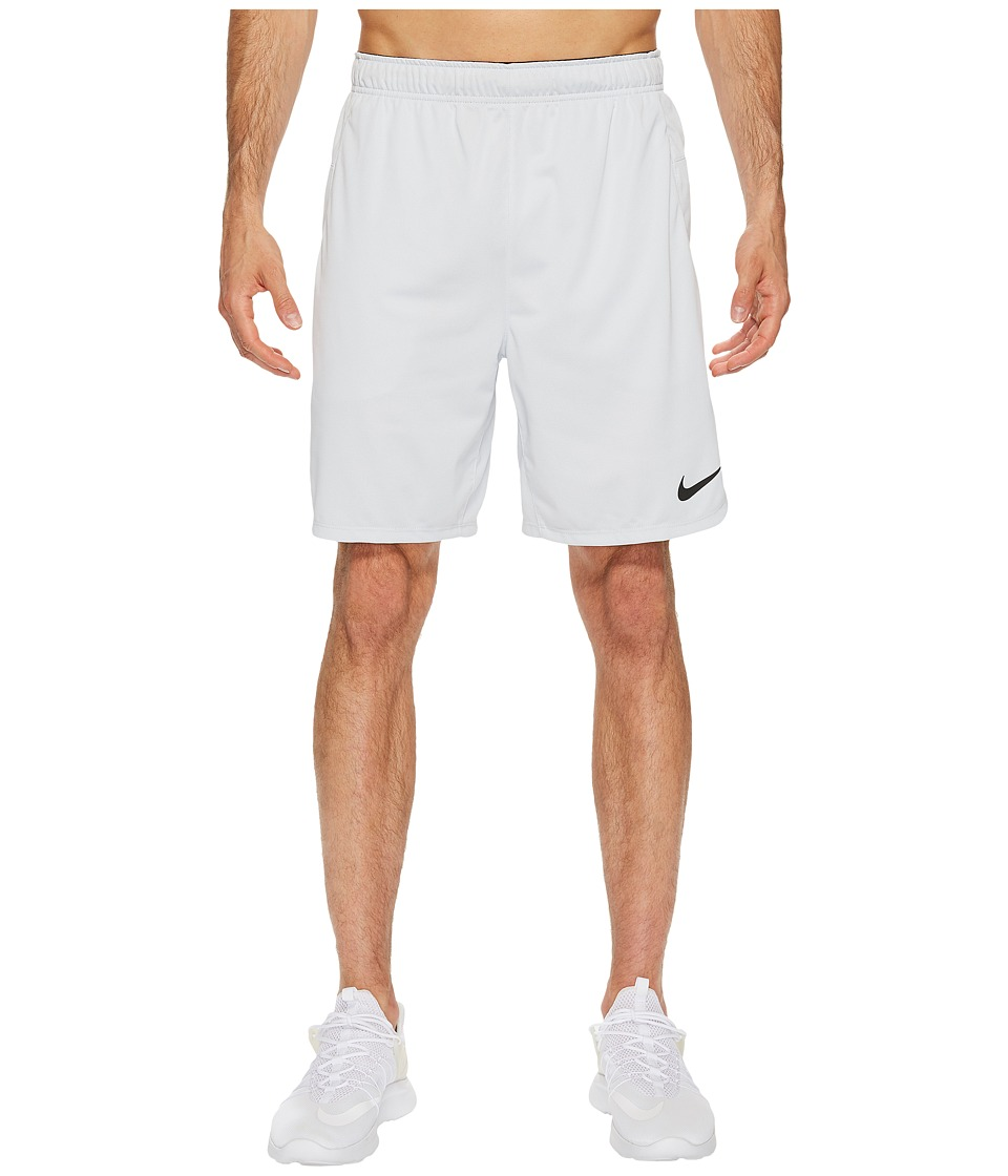 Nike Dry 8 Training Short (Pure Platinum/Black) Men
