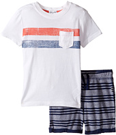 Splendid Littles - Pocket Tee Striped Shorts Set (Toddler)