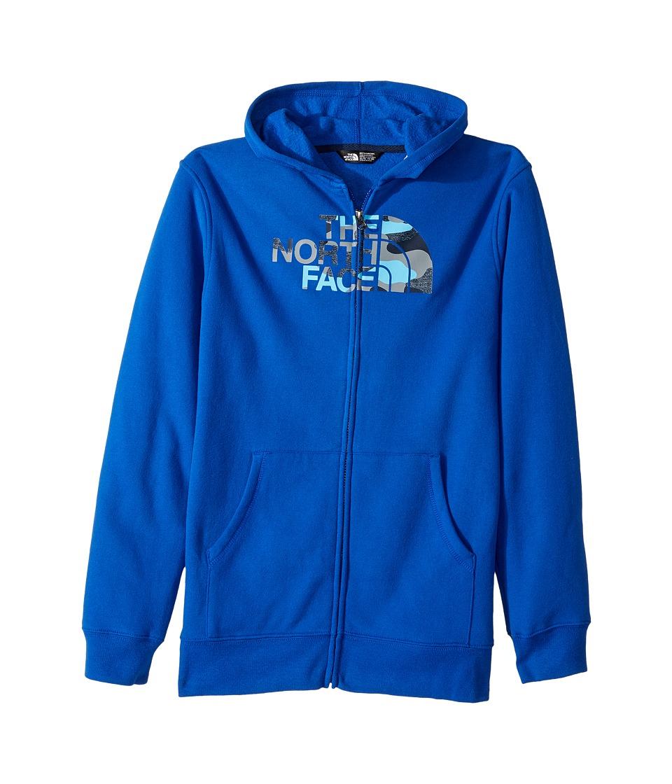 The North Face Kids - Logowear Full Zip Hoodie (Little Kids/Big Kids) (Bright Cobalt Blue (Prior Season)) Boys Sweatshirt