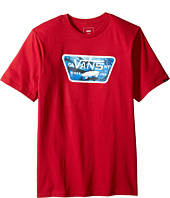 Vans Kids - Full Patch Fill Tee (Big Kids)