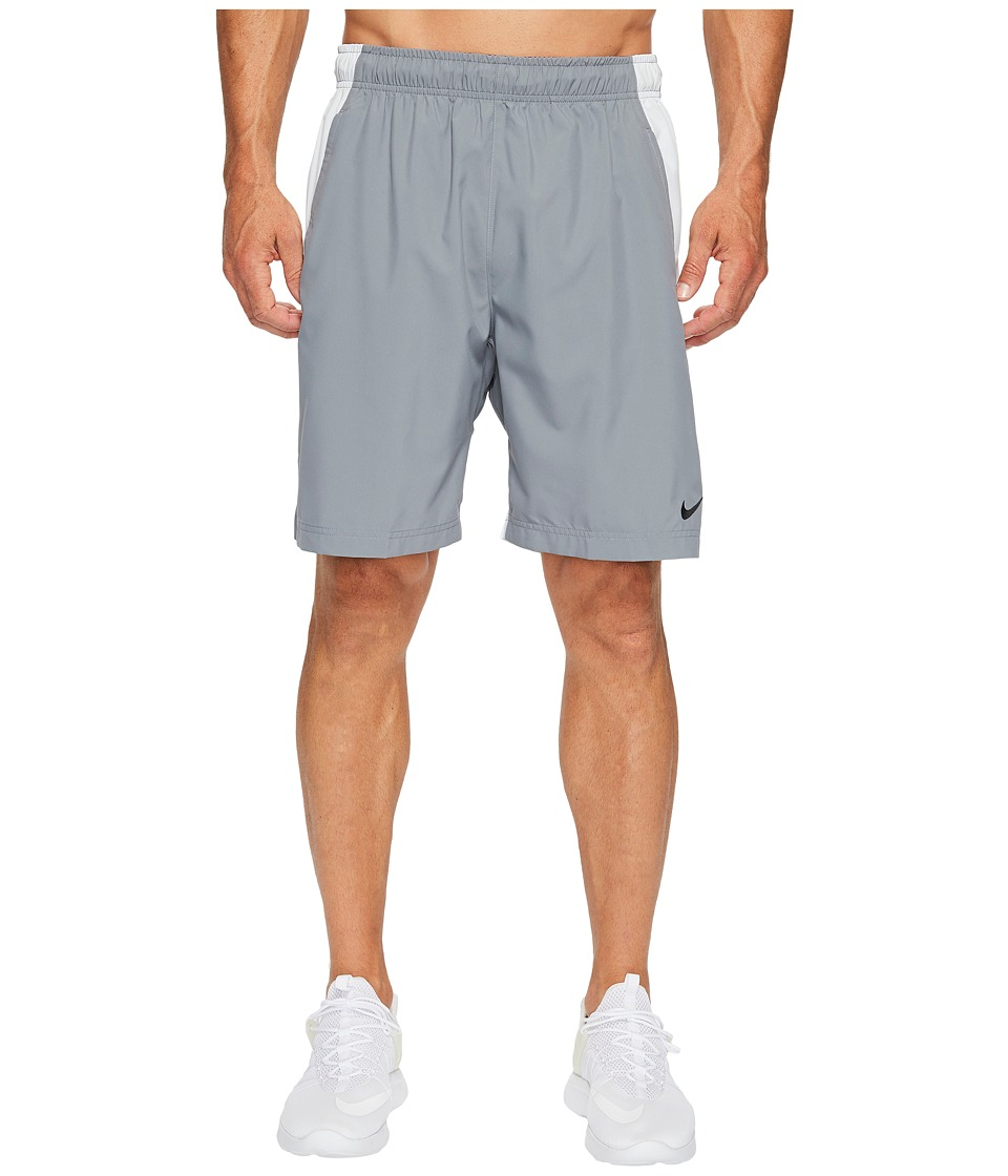 Nike Flex Woven Training Short (Cool Grey/Pure Platinum/Black) Men