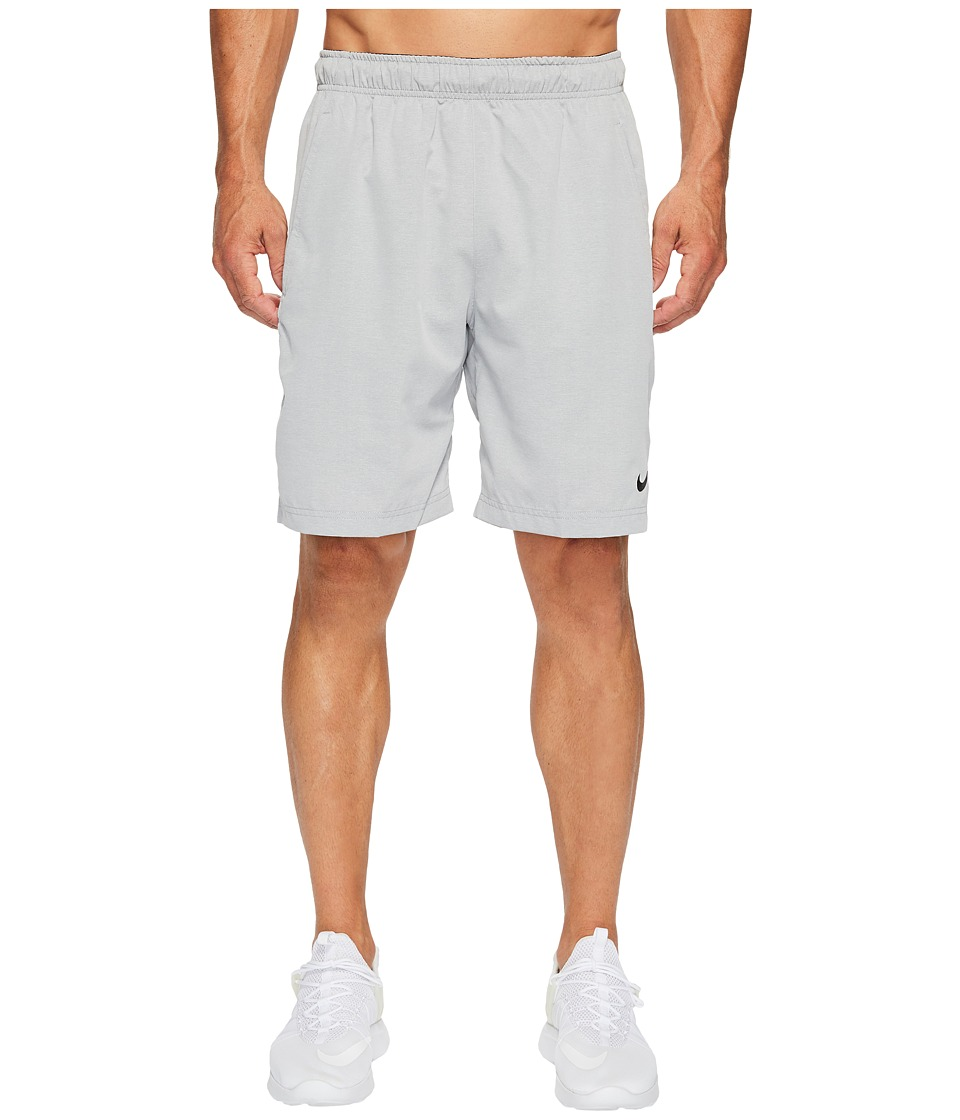 Nike Flex Woven Training Short (Carbon Heather/Carbon Heather/Black) Men