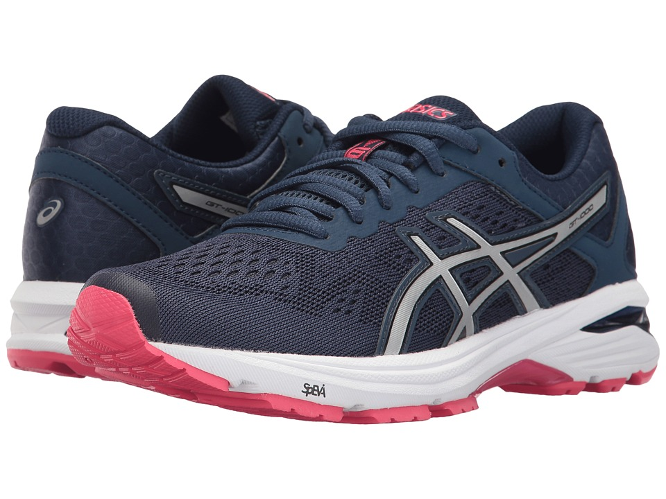 ASICS GT-1000 6 (Insignia Blue/Silver/Rouge Red) Women