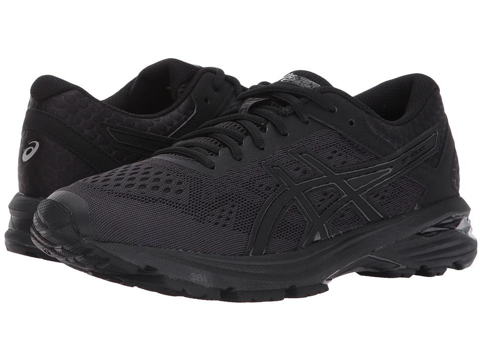 ASICS GT-1000 6 (Black/Black/Silver) Women