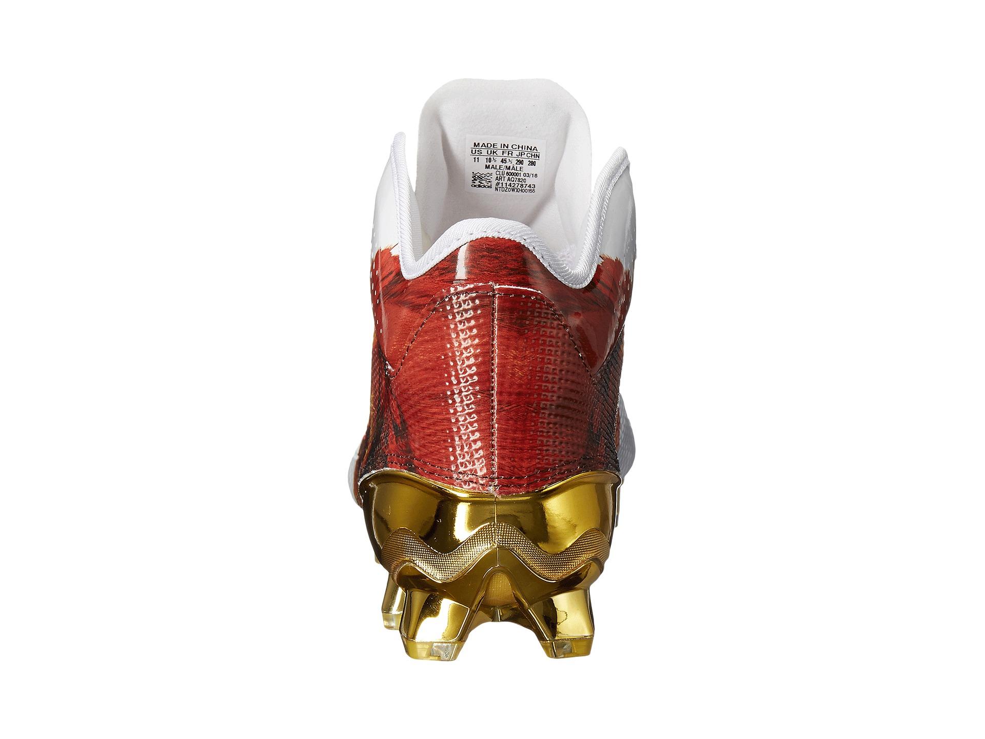 adidas Adizero 5-Star 5.0 Mid Uncaged at 6pm.com