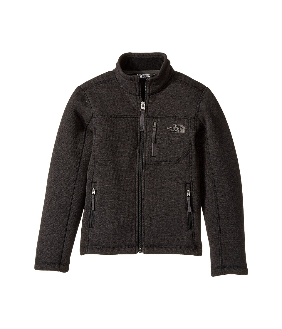 The North Face Kids - Gordon Lyons Full Zip (Little Kids/Big Kids) (TNF Black Heather) Boys Fleece