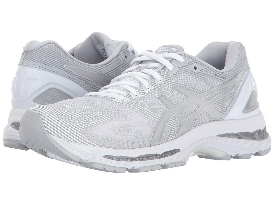 Asics GEL-Nimbus(r) 19 (Glacier Grey/Silver/White) Women'...