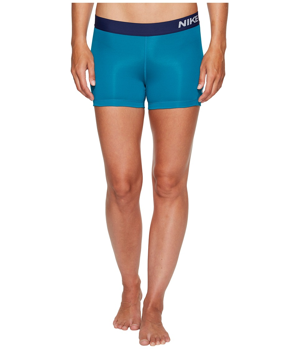 Nike Pro 3 Cool Compression Training Short (Blustery/Pure Platinum) Women