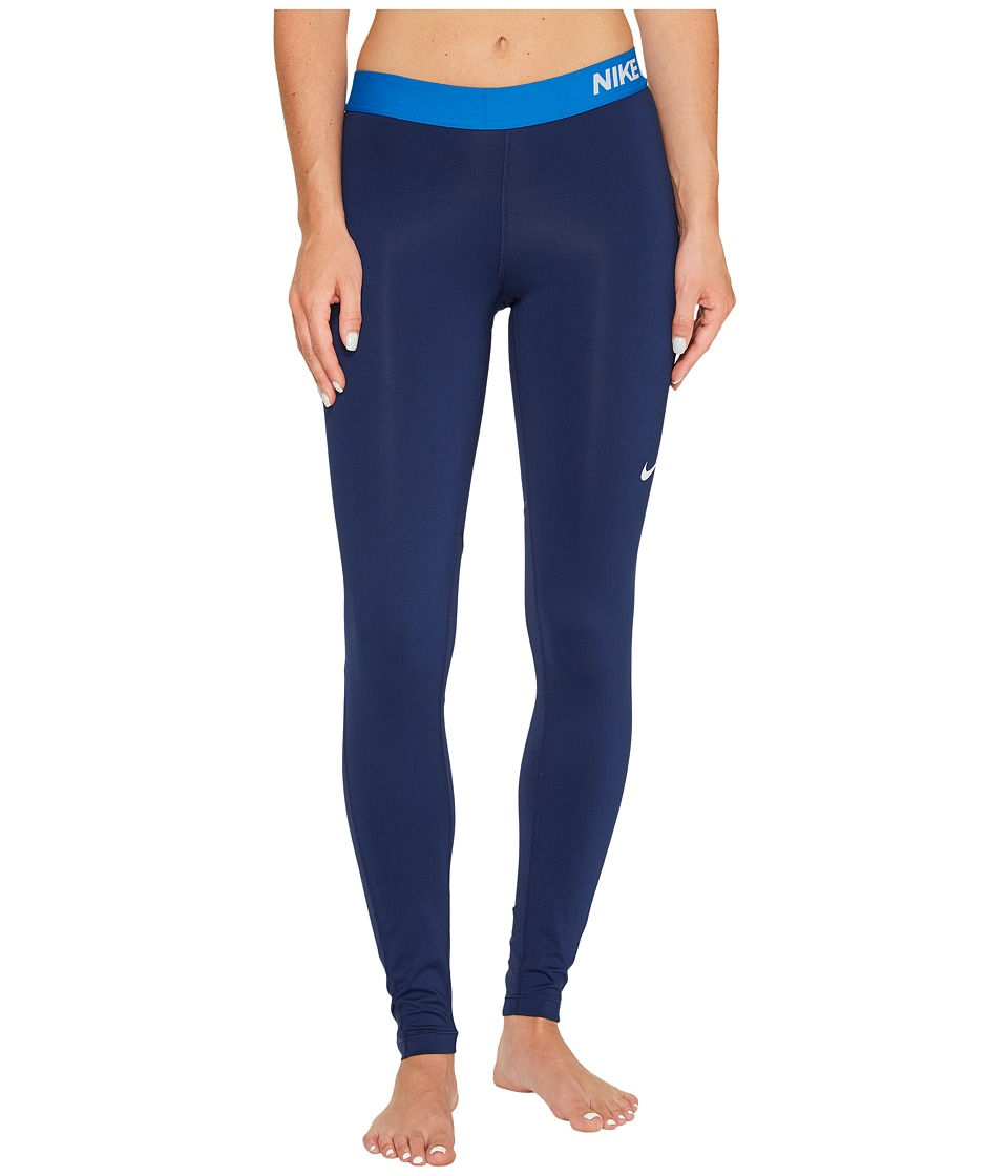 Nike Pro Cool Tights (Binary Blue/Blue Jay/Pure Platinum) Women