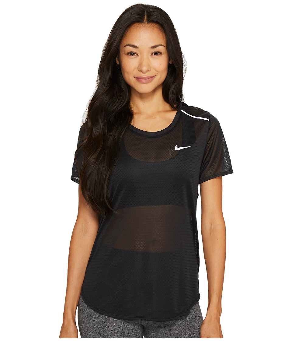 Nike Breathe Running Top (Black) Women